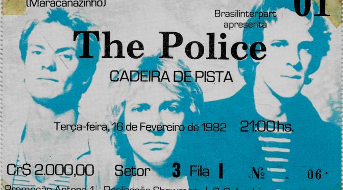 The Police | Rio de Janeiro, Brasil | 16-feb-82