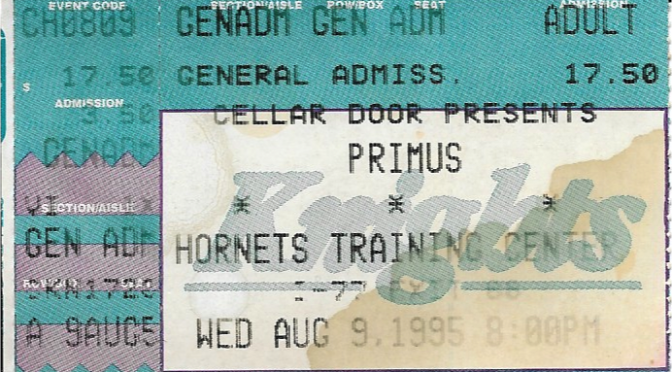 Primus | Ft. Mill SC | 9-Aug-95