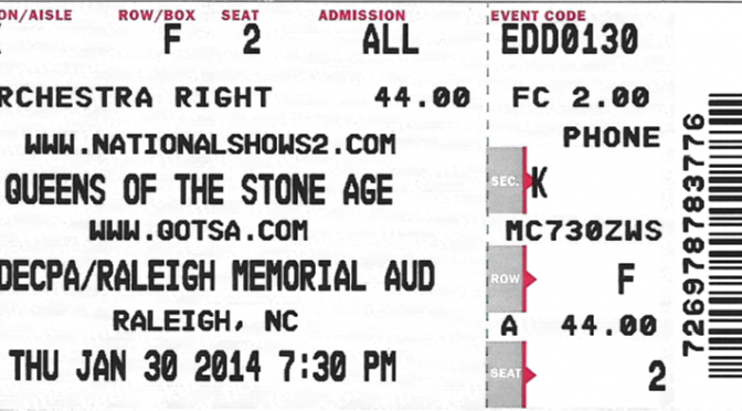 Queens of the Stone Age | Raleigh NC | 30-Jan-14