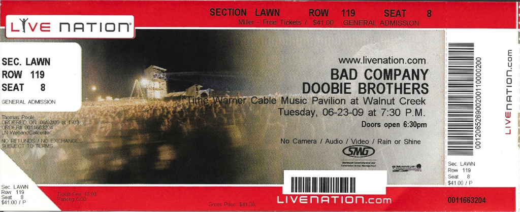 Bad Company, Raleigh, NC | June 3, 2009