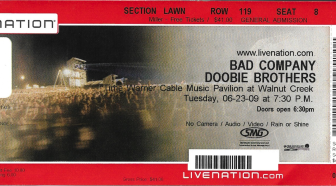 Bad Company | Raleigh, NC | 23-Jun-09
