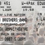 Allman Brothers Band, Raleigh, NC Aug 11, 2007