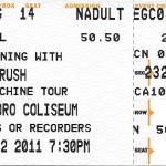 Rush | Time Machine Tour |Greensboro, NC | Apr 2, 20111