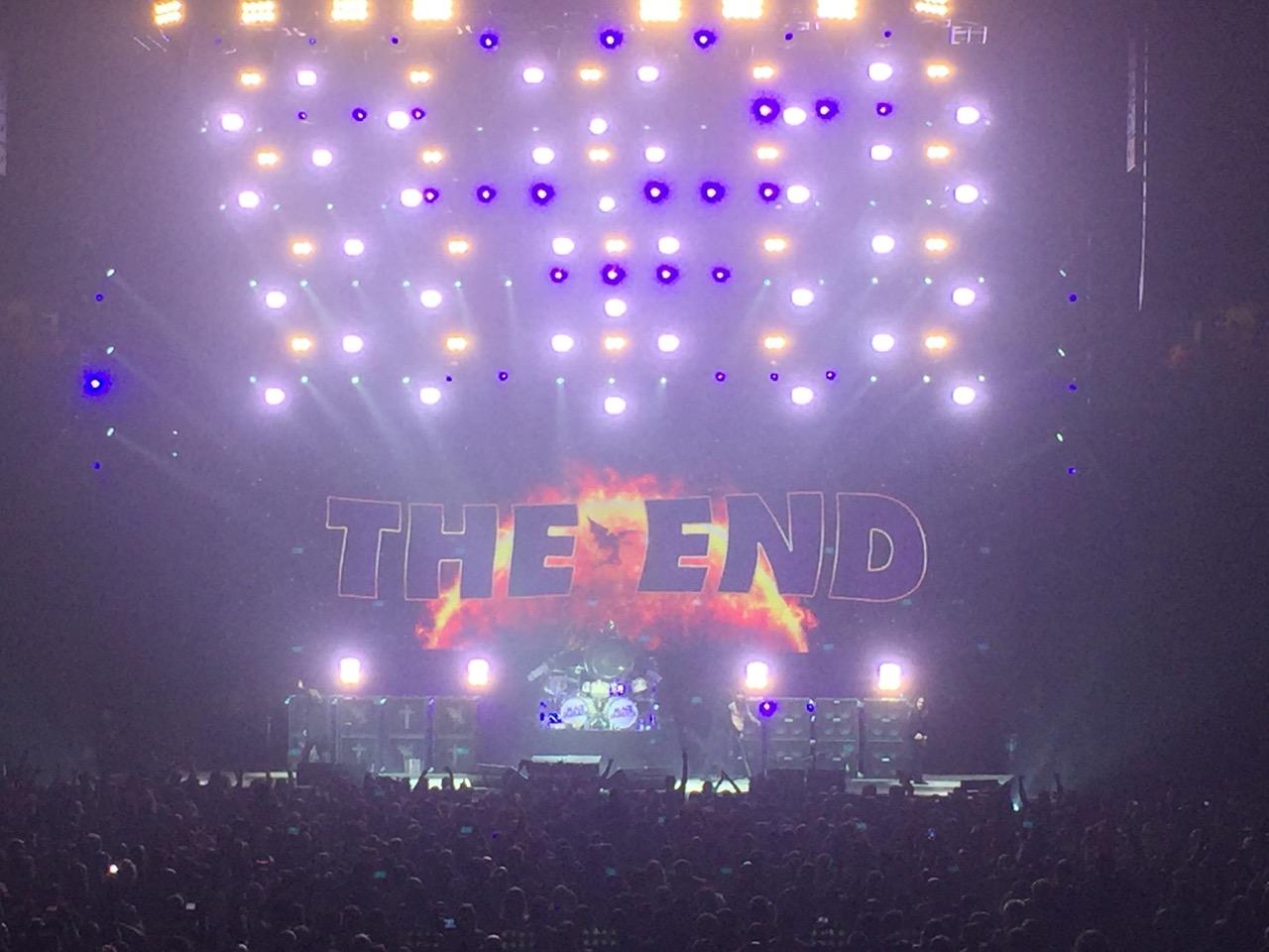 Black Sabbath The End Tour Photos Favorite Concert