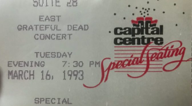 Grateful Dead | Landover, MD | 16-Mar-1993
