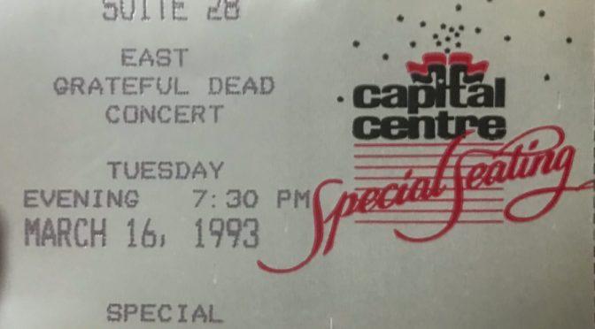 Grateful Dead | Landover, MD | 16-Mar-1993